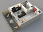Vente Appartement 1 pièce 29m² Bourgoin-Jallieu (38300) - Photo 2