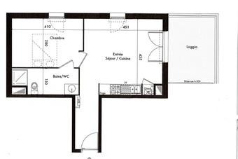 Location Appartement 2 pièces 40m² Andernos-les-Bains (33510) - Photo 1