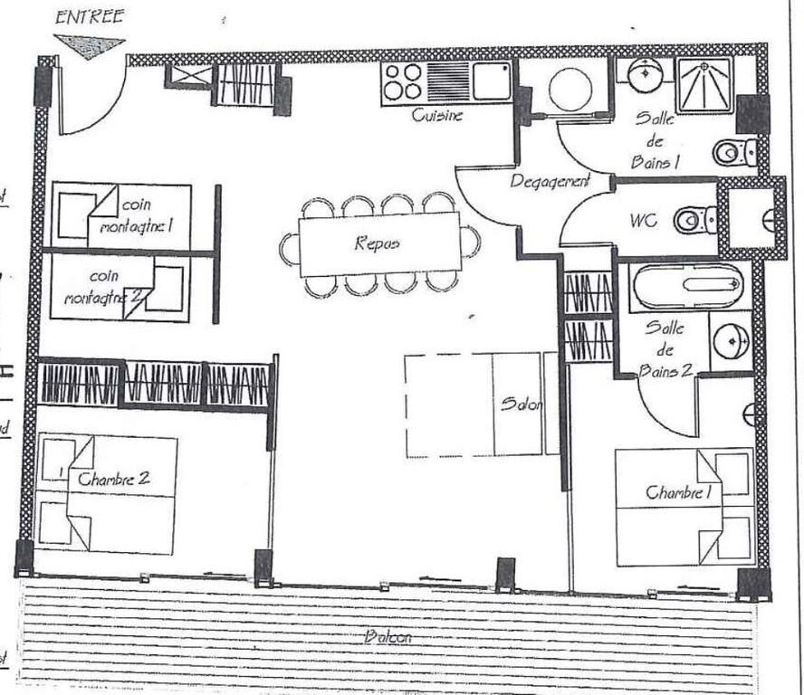 Vente Appartement 4 pièces 66m² CHAMROUSSE - photo