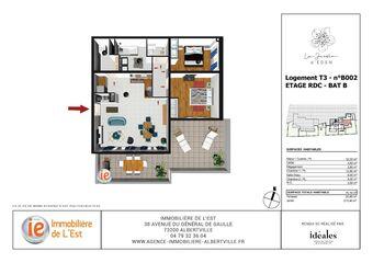 Vente Appartement 3 pièces 70m² Albertville (73200) - Photo 1