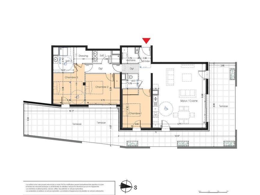 Vente Appartement 4 pièces 105m² Albertville (73200) - photo
