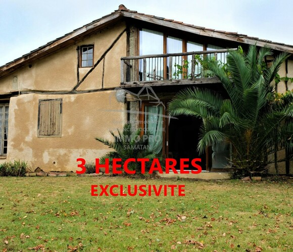 Vente Maison 7 pièces 160m² Samatan (32130) - photo