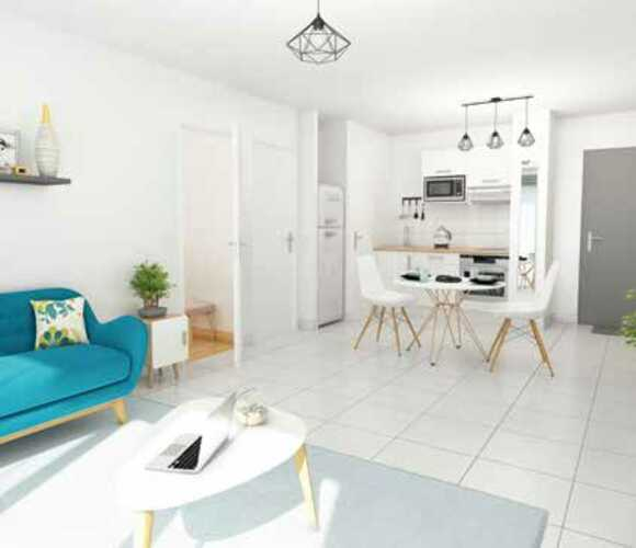 Vente Appartement 3 pièces 71m² Bordeaux (33000) - photo