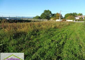 Vente Terrain 1 511m² La Tour-du-Pin (38110) - photo