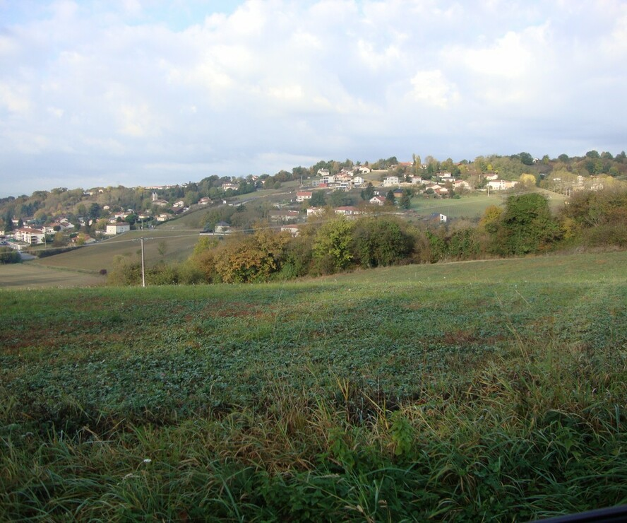 Vente Terrain 800m² Saint-Just-Chaleyssin (38540) - photo