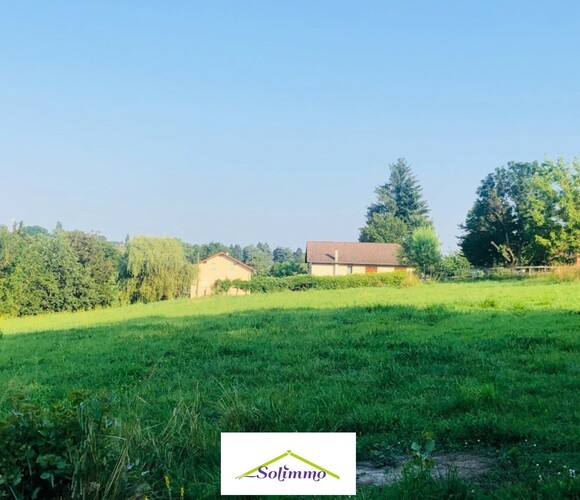 Vente Terrain 1 300m² Corbelin (38630) - photo