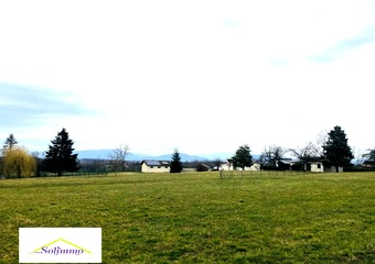 Vente Terrain 940m² Saint-Ondras (38490) - Photo 1