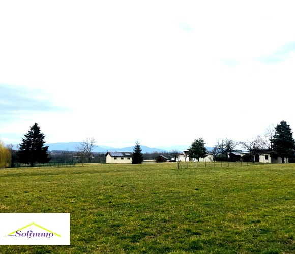 Vente Terrain 940m² Saint-Ondras (38490) - photo