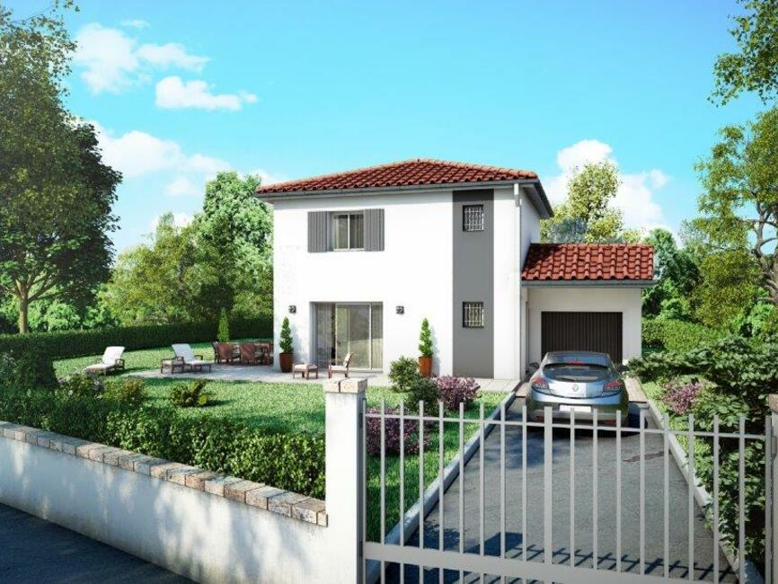 vente maison 4 pi ces les abrets 38490 106895. Black Bedroom Furniture Sets. Home Design Ideas