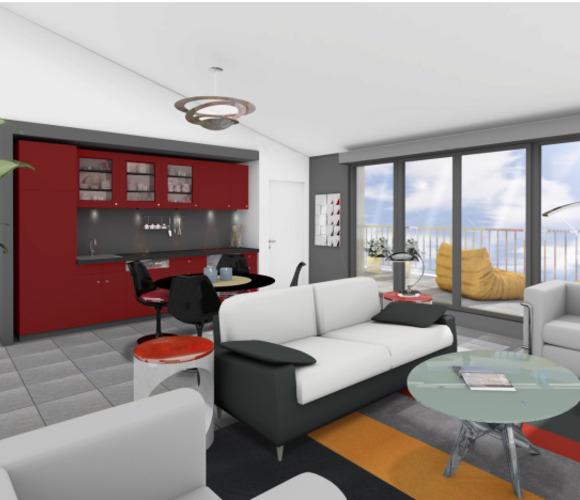 Vente Appartement 4 pièces 99m² Bègles (33130) - photo