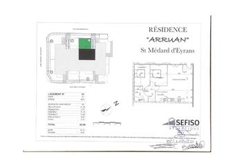 Renting Apartment 3 rooms 66m² Saint-Médard-d'Eyrans (33650) - Photo 1
