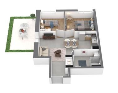 Vente Appartement 3 pièces 54m² Chamalières (63400) - photo