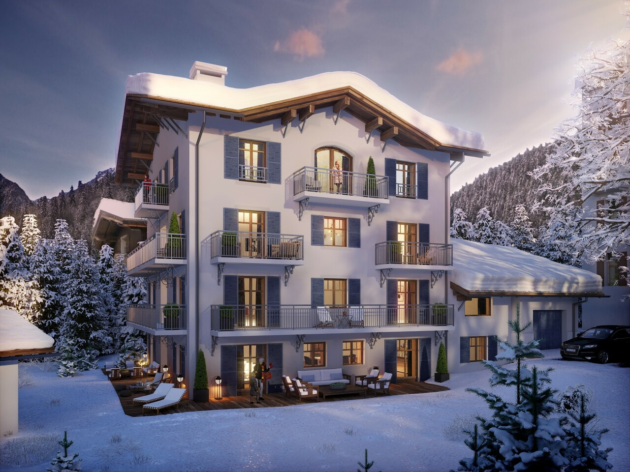 NEW APARTMENT UNDER ROOFS Chalet in Megeve