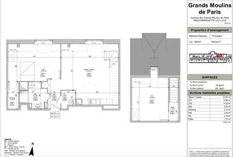 Vente Appartement 4 pièces 79m² Marquette-lez-Lille (59520) - photo