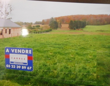 Vente Terrain 2 300m² Barisis (02700) - photo