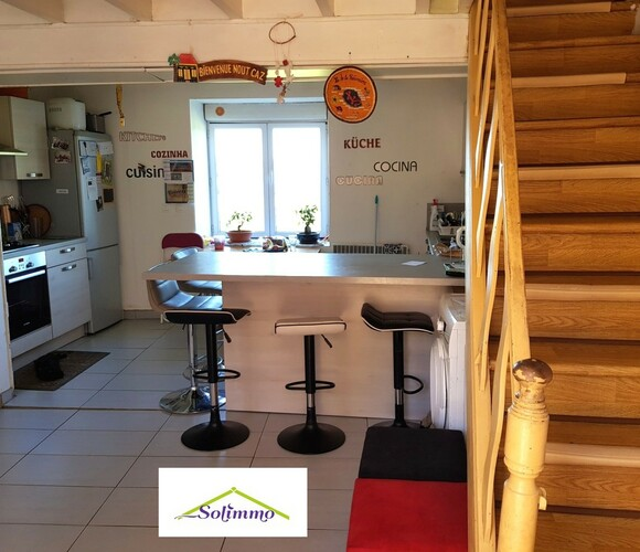 Vente Maison 4 pièces 90m² Morestel (38510) - photo