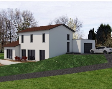 Vente Terrain 750m² Pommiers (69480) - photo