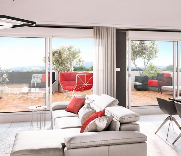 Vente Appartement 3 pièces 65m² Reignier-Esery (74930) - photo