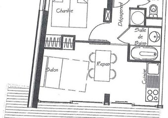Vente Appartement 2 pièces 27m² CHAMROUSSE - Photo 1