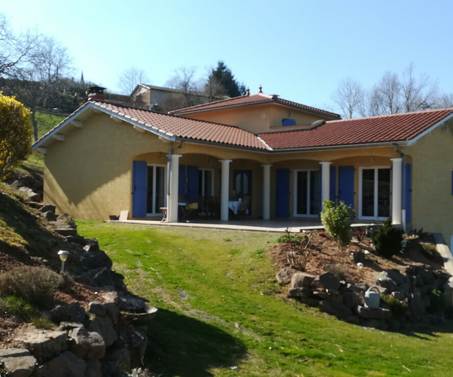Vente Maison 5 pièces 151m² Saint-Just-d'Avray (69870) - photo