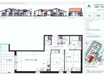 Renting Apartment 3 rooms 65m² Ondres (40440) - Photo 1