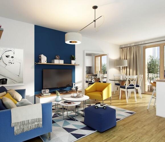 Vente Appartement 2 pièces 46m² Armentières (59280) - photo