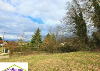 Vente Terrain 1 125m² Saint-Ondras (38490) - photo