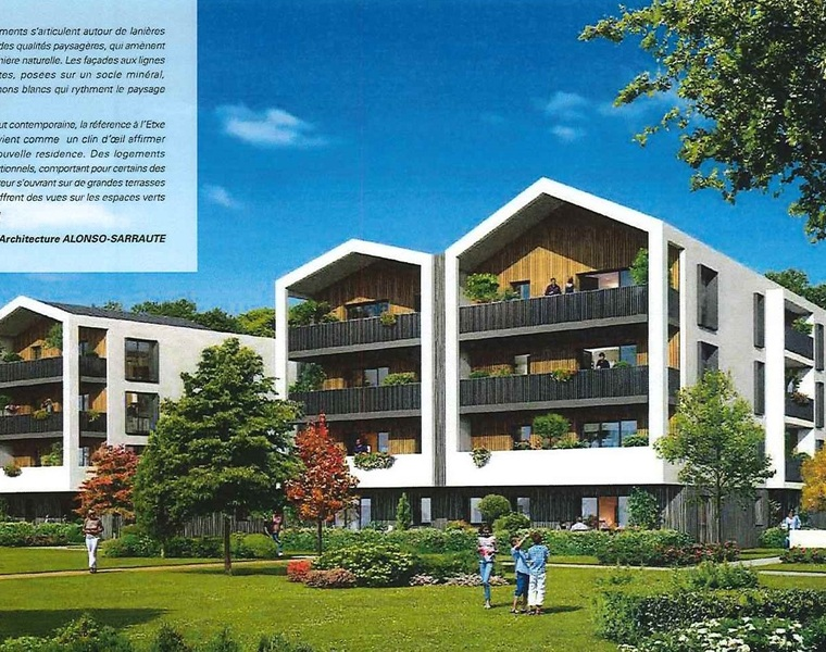 Vente Appartement 5 pièces 109m² Anglet (64600) - photo