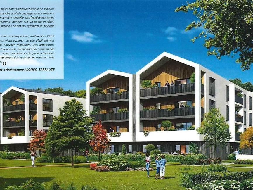 vente appartement 5 pi ces anglet 64600 275406. Black Bedroom Furniture Sets. Home Design Ideas