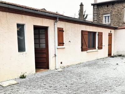 Vente Maison 1 pièce 55m² Chazelles-sur-Lyon (42140) - photo
