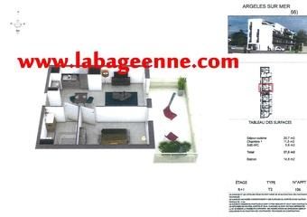 Vente Appartement 2 pièces 38m² Argelès-sur-Mer (66700) - Photo 1