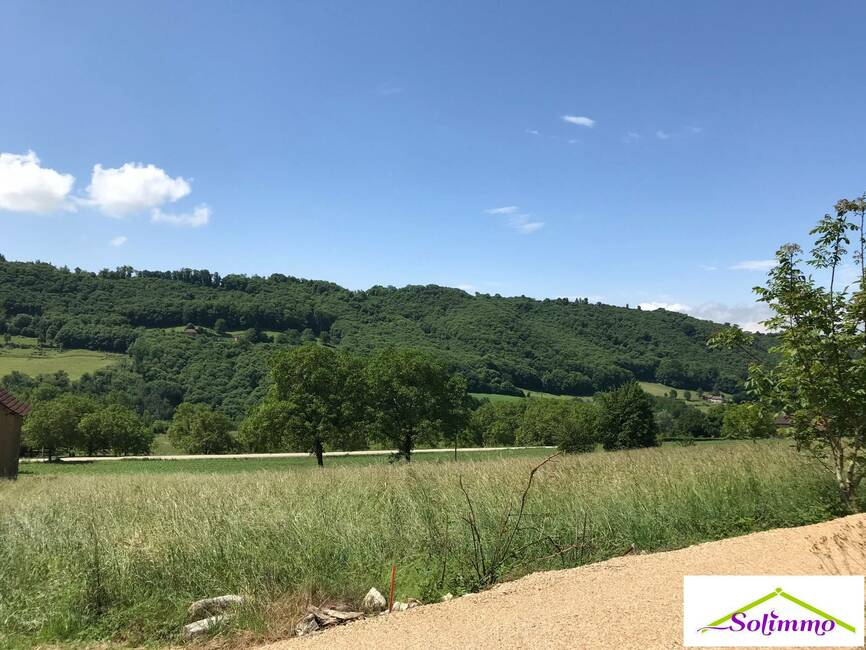 Vente Terrain 605m² Saint-Genix-sur-Guiers (73240) - photo