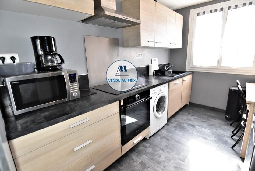 Vente Appartement 3 pièces 56m² Saint-Martin-d'Hères (38400) - photo