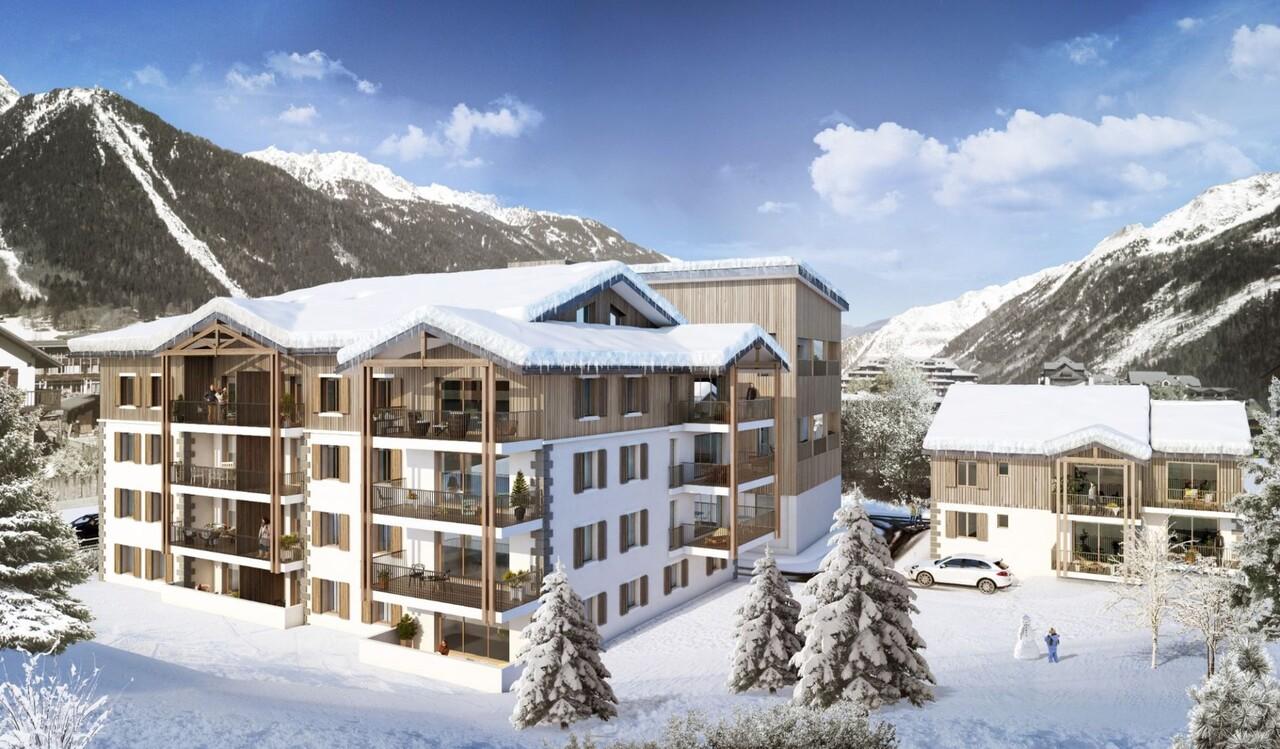 SUPERB NEW FLAT NEAR MONT BLANC Accommodation in Chamonix