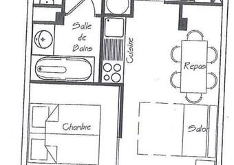 Vente Appartement 2 pièces 33m² CHAMROUSSE - Photo 1