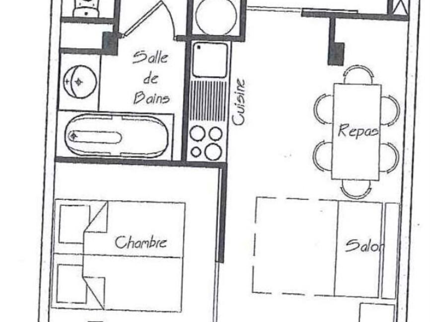 Vente Appartement 2 pièces 33m² CHAMROUSSE - photo
