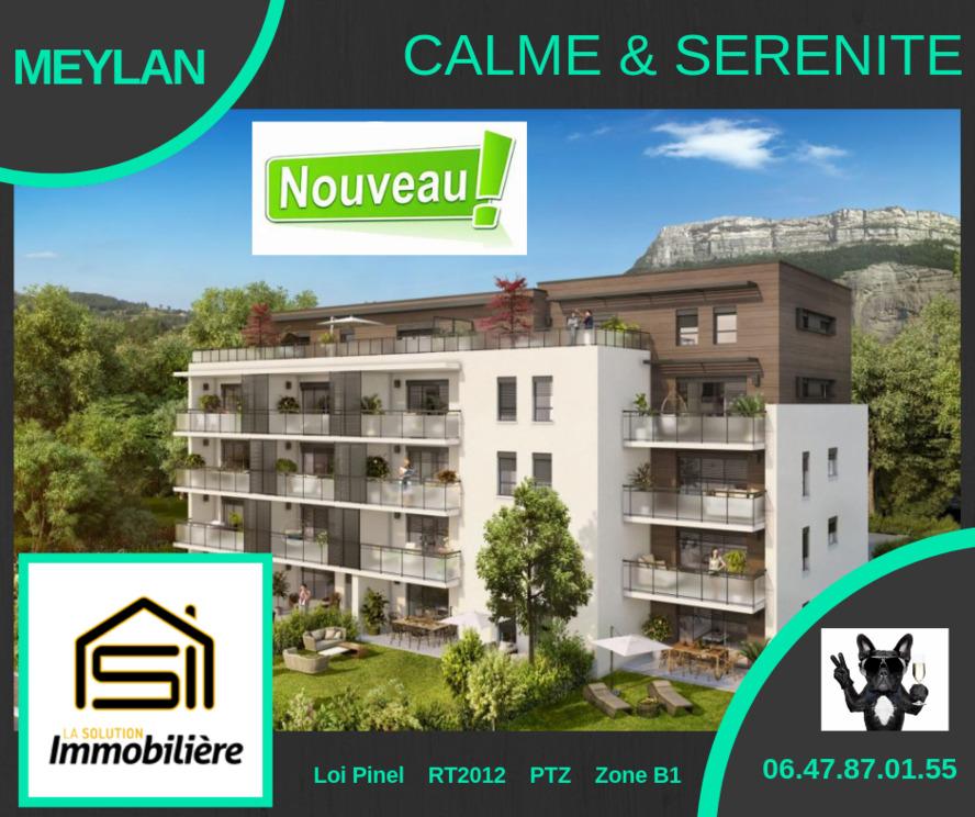 Vente Appartement 2 pièces 49m² Meylan (38240) - photo