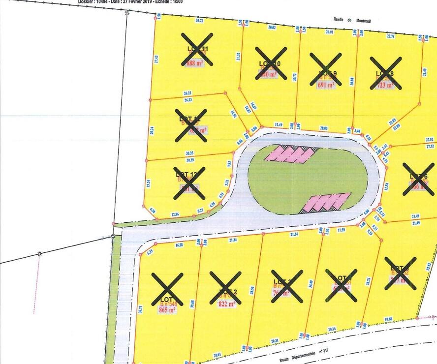 Sale Land 874m² Campigneulles-les-Grandes (62170) - photo