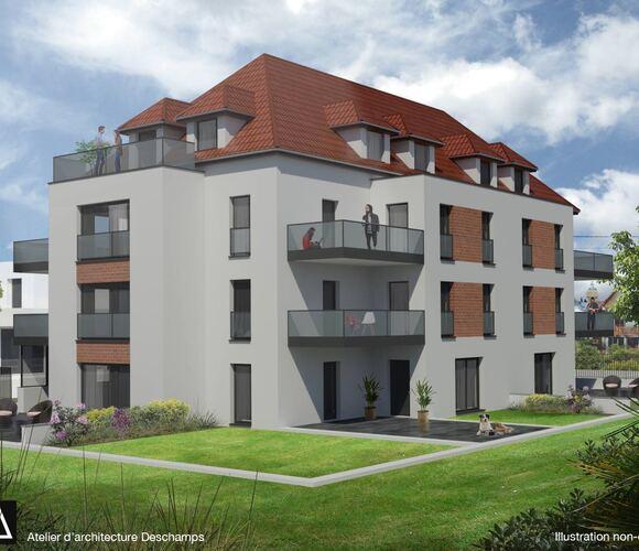 Vente Appartement 2 pièces 72m² Sélestat - photo