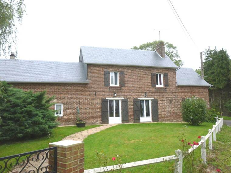 Vente Maison 5 pièces 110m² 4 km BACQUEVILLE en CAUX - photo