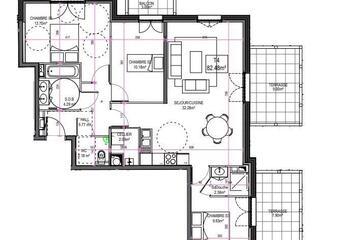 Vente Appartement 4 pièces 82m² Le Touquet-Paris-Plage (62520) - photo
