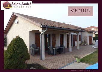 Vente Maison 7 pièces 93m² Brézins (38590) - photo
