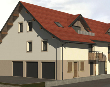 Vente Appartement 3 pièces 56m² Marcellaz (74250) - photo