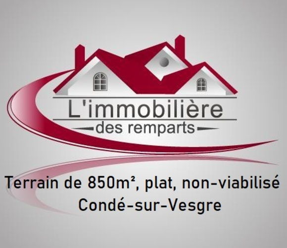 Vente Terrain 850m² Houdan (78550) - photo