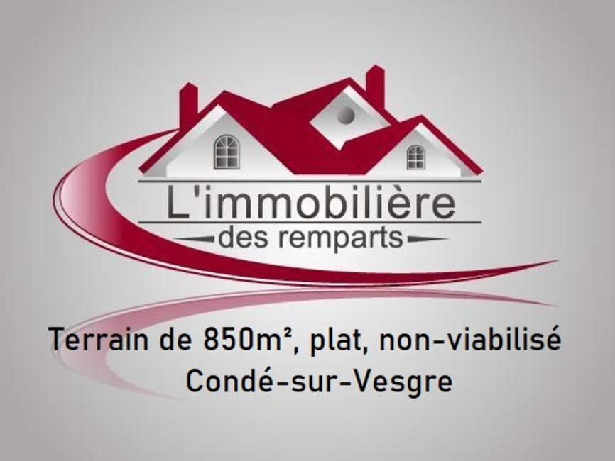 Sale Land 850m² Houdan (78550) - photo