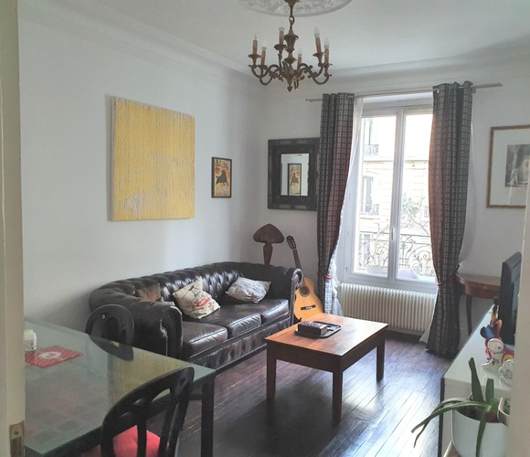 Vente Appartement 3 pièces 51m² Paris 19 (75019) - photo