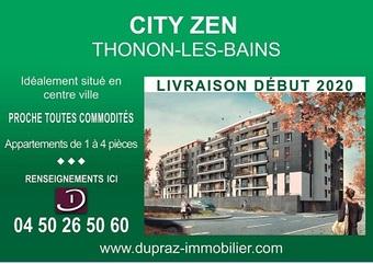 Vente Appartement 3 pièces 65m² Thonon-les-Bains (74200) - Photo 1
