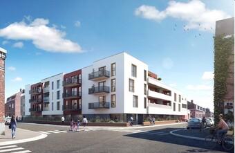 Vente Appartement 3 pièces 67m² Houplines (59116) - photo