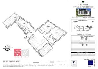 Vente Appartement 3 pièces 72m² Annemasse (74100)