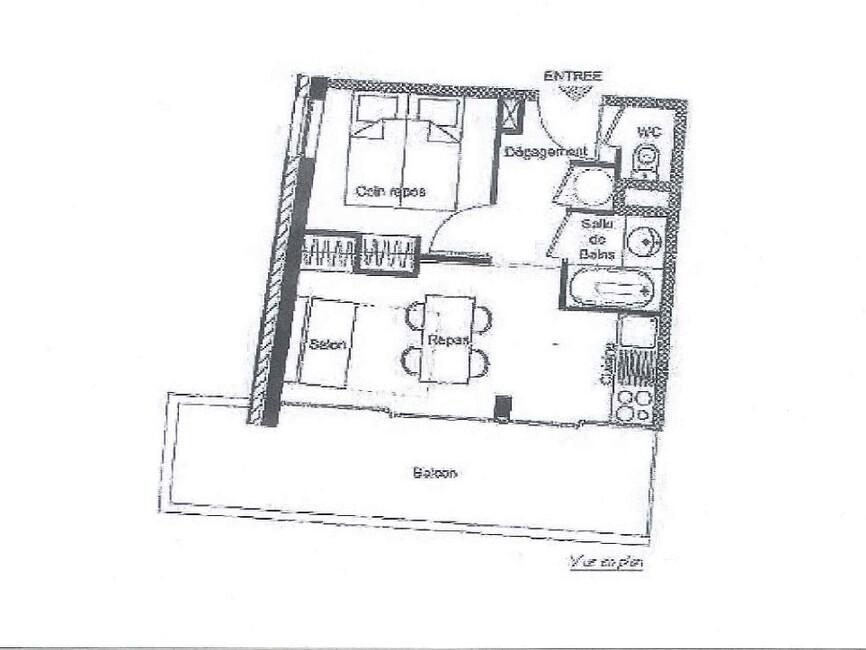 Vente Appartement 1 pièce 25m² CHAMROUSSE - photo